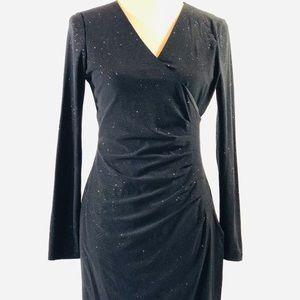 Black Calvin Klein Sparkly Cocktail Dress!